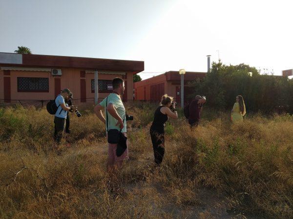 Curso de fotografía en el Camp de Turia